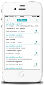 App Diocesi Perugia- orari messe