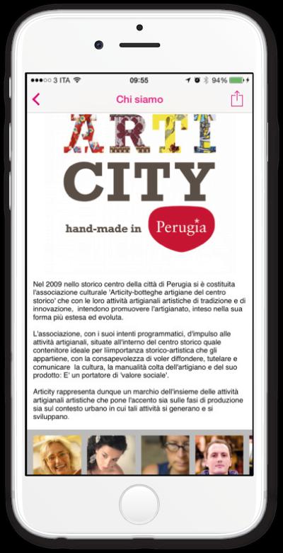 App Articity Perugia