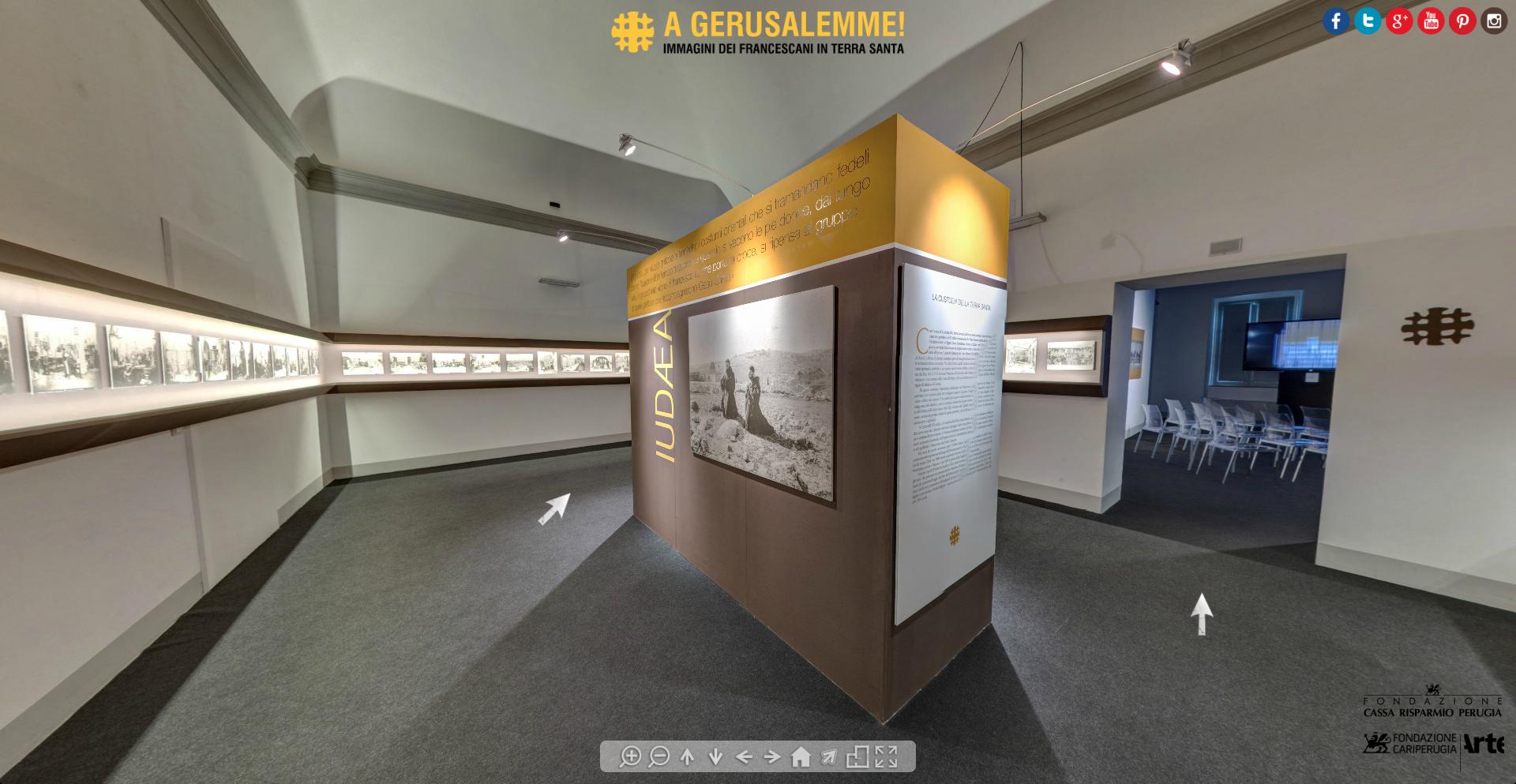 A Gerusalemme Museo virtuale