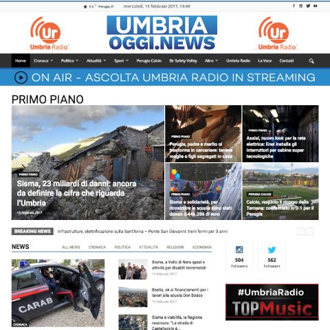 UMBRIA OGGI NEWS